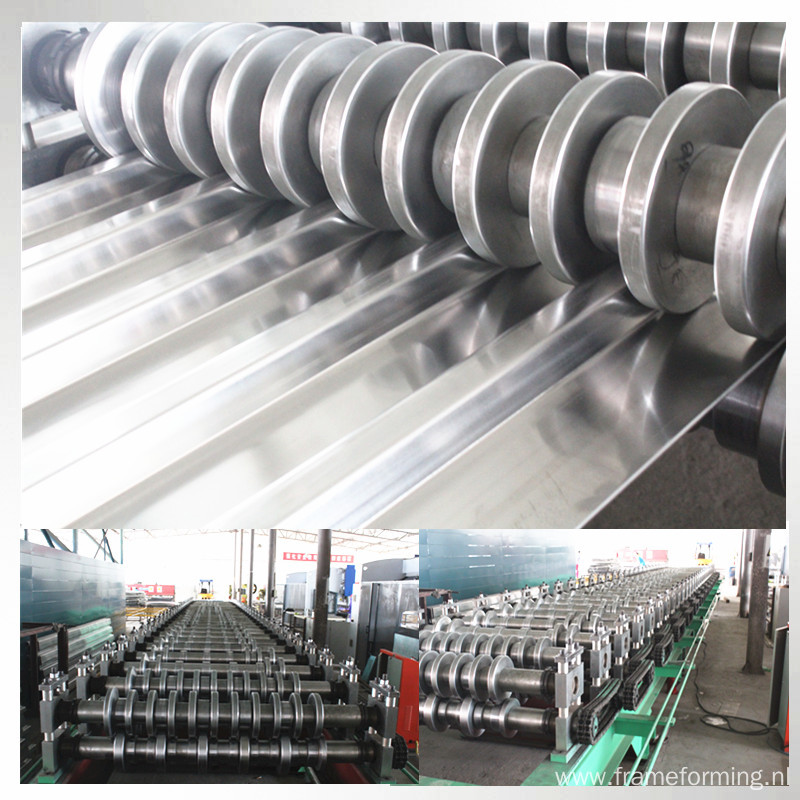 Cargo compartment plate roll forming machine