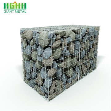 galvanized anti-corrosion welded gabion stone basket