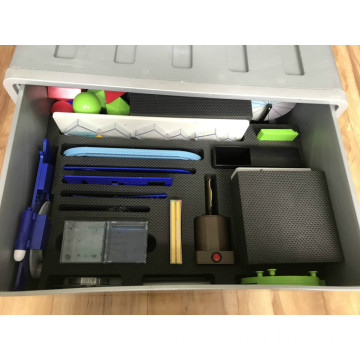 Aluminium Instrument Case/Box with Foam Lining