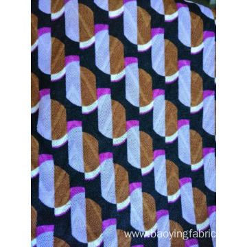 Single Side Jacquard Print Fabric