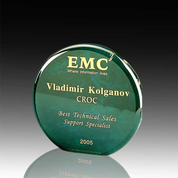 wholesale acrylic round achievement award