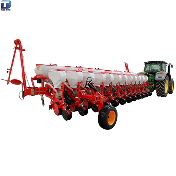 Tractor pto mounted air-suction precision 12 row seeders