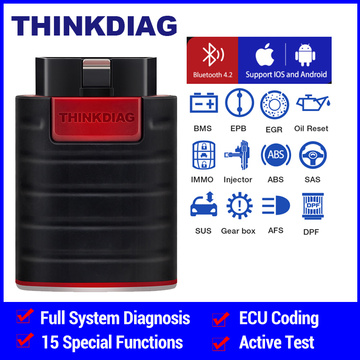 ThinkDiag obd2 all system Bluetooth Code Reader Scanner Andriod IOS diagnostic tool TPMS OIL reset service PK EasyDiag AP200