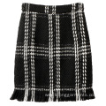 Small Fragrant Wind with Tweed Fishtail Skirt