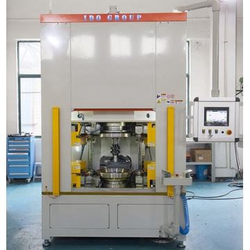 Washing machine drum riveting machine