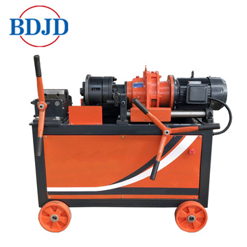 Construction used rebar thread rolling machine