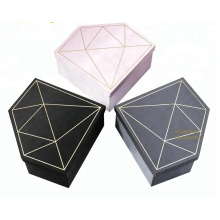 Luxury Cardboard Heart Shaped Flower Gift Box