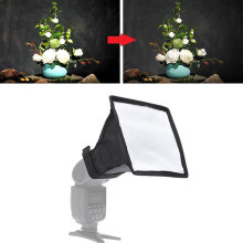 Flash Diffuser Softbox Camera Photo Soft Box Universal Foldable Light Reflector