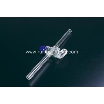 Stopcock Straight Bore Two-way PTFE/GLASS