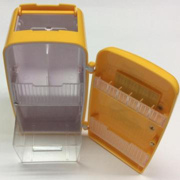 plastic fridge-shape display storage box