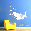 Ruang Tamu Warna Papan Tulis Decals Wall Sticker