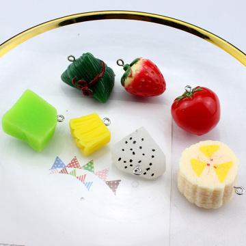 6pcs Sweet fruit fresh Cute Earrings Dragon Banana apple pendant Women Strawberry Orange Earrings for Girls Jewelry Accessories