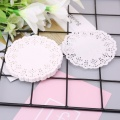 100pcs Lace Coaster Placemat Cushion Mug Holder Tea Cup Pad Mat Wedding Party H7ED