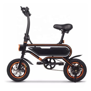 12'' 350W Adult Foldable Pedal Assist Electric Bicycle