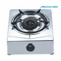 Silvery S.S Table Gas Cooker 1 Burner