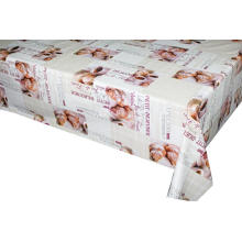 Pvc Printed fitted table covers Table Linens Round