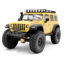 RC Car Accessories Black Nylon Front Bumper with Simulation Winch Capstan Tow Hooks for Axial SCX24 1/24