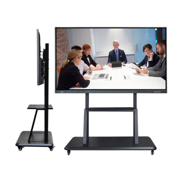 75 inch interactive flat panel with Projector