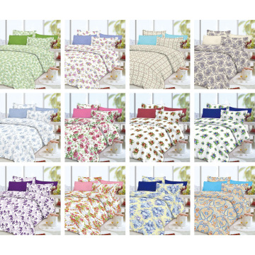 Modern Quilted Patchwork Bedspread
