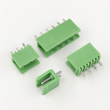 3.96MM pitch 180 degree Plug-in PCB Terminal connector