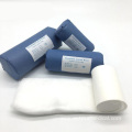 Medical Disposable First Aid Wool Cotton Roll