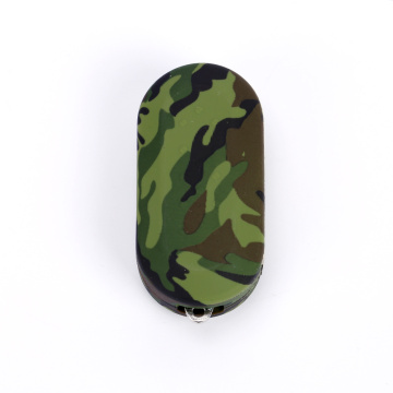 Amry color fiat 500 remote key fob cover
