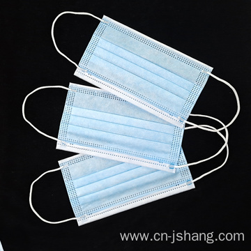 High Quality Outdoor Protective Disposable 3ply Face Mask