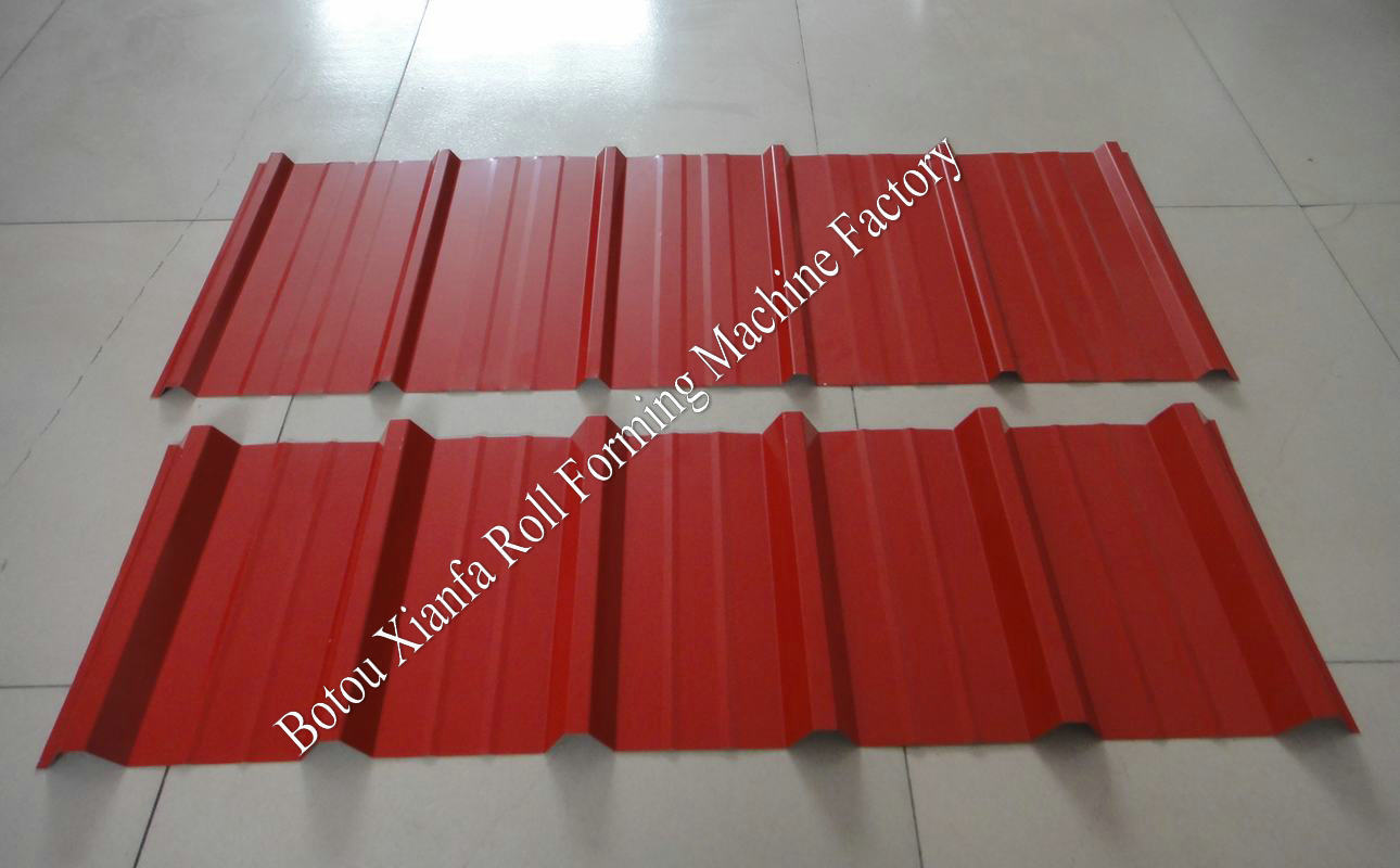 roof panel production line