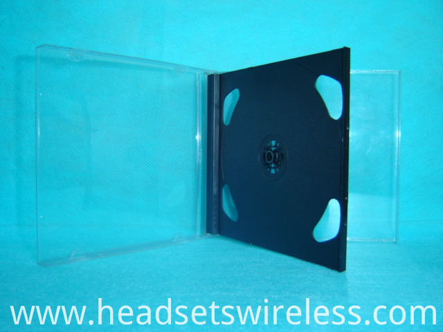 10 4mm Double Cd Case With Black Tray8