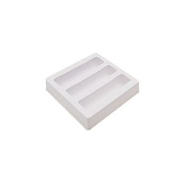 Custom plastic lipstick cosmetic blister tray packaging