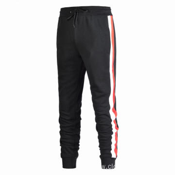 Men Stripe Gym Joggers Pants