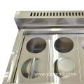 Cabinet Type Four Basket Gas Pasta Cooker