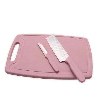 Plastic Chopping Board with Knife set