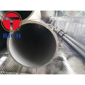 Austenitic Stainless Nickel-Base Alloy Circular welded seam pipes