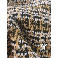 Plaid Jacquard Sweater Fabric
