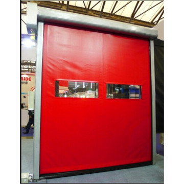 Self Recovery PVC High Speed Door