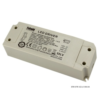 LED Downlight Driver 45W 0-10v Regulación.