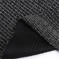 Black Fashion Designs Wire Jacquard Fabric For Garemnt
