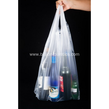 Economical Reusable Recyclable Clear Shopping Bags