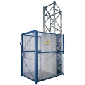 Hydraulic passenger elevator equipment