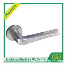 SZD STLH-004 America Popular Brizal Style Lever Door Handle Steel On Rose Stainless Set