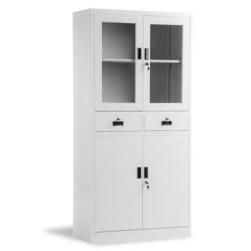 Drawer White Metal Storage Cupboard