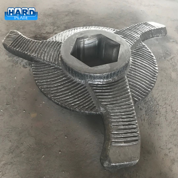Chromium Carbide Clad Sinter Crusher Rotor Blade