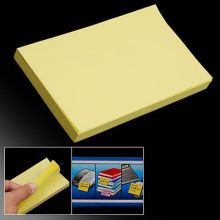 100 Pages Note Self Stick Sticky Paper Message Yellow