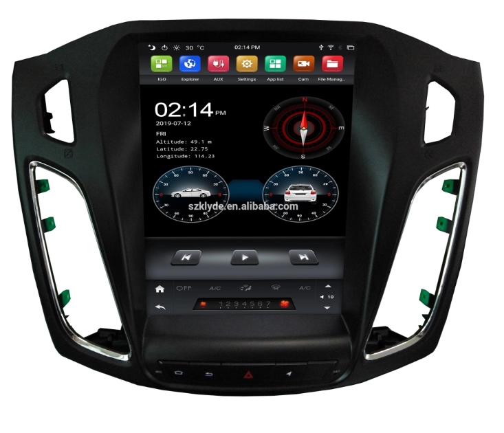 tesla android car radio