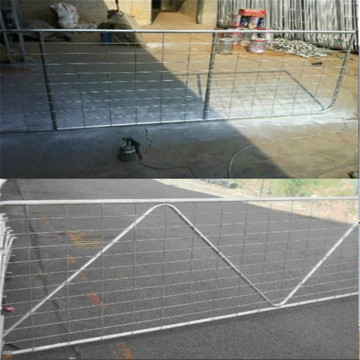 Welded wire farm gate