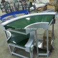 Customized 90 Degree Curved Belt Conveyor System