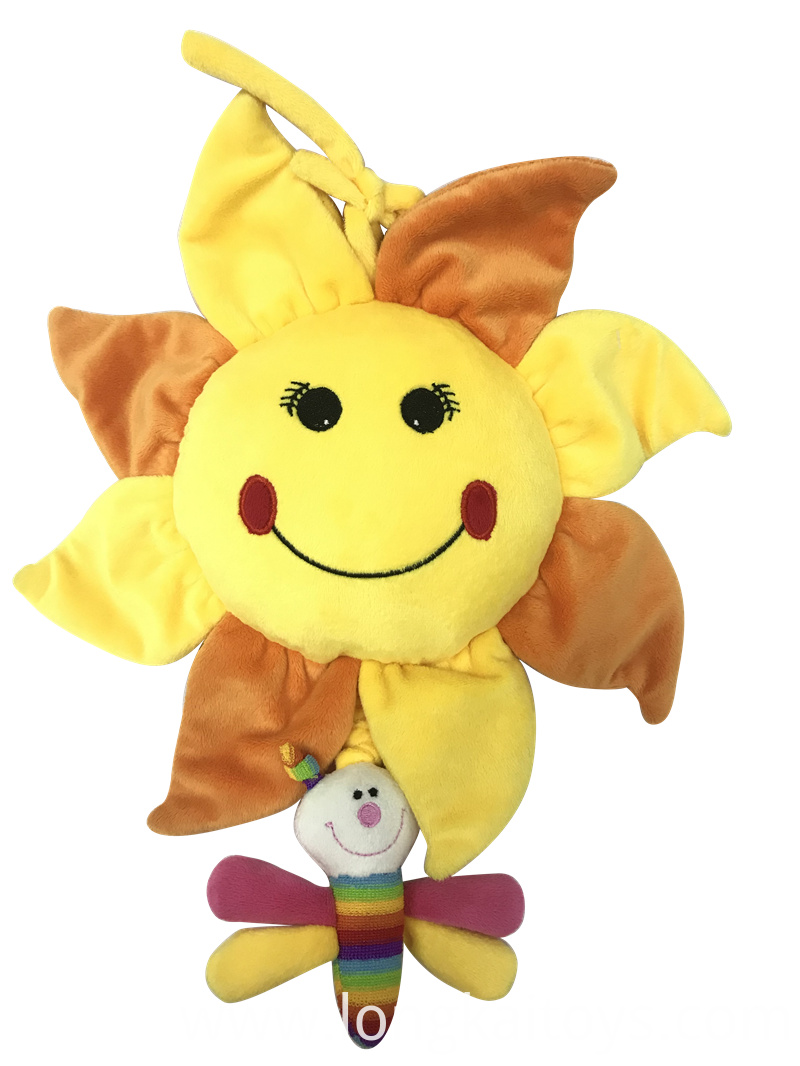 Sunflower Plush Toy For Baby