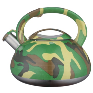 3.5L color painting decal whistling teakettle