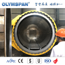 ASME standard small carbon fiber part autoclave